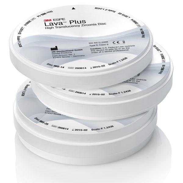 Lava™ Plus High Translucency Zi...