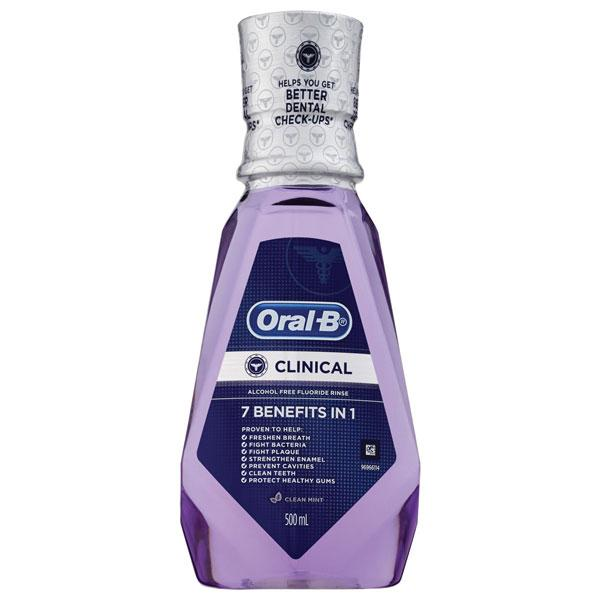 Oral-B Clinical mouthrinse