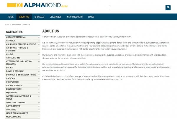 Alphabond Dental Pty Ltd feature image