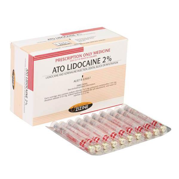 ATO Lidocaine 2%