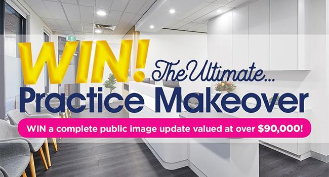 $90,000 Ultimate Practice Makeover on offer to one lucky dentist - Apply now!