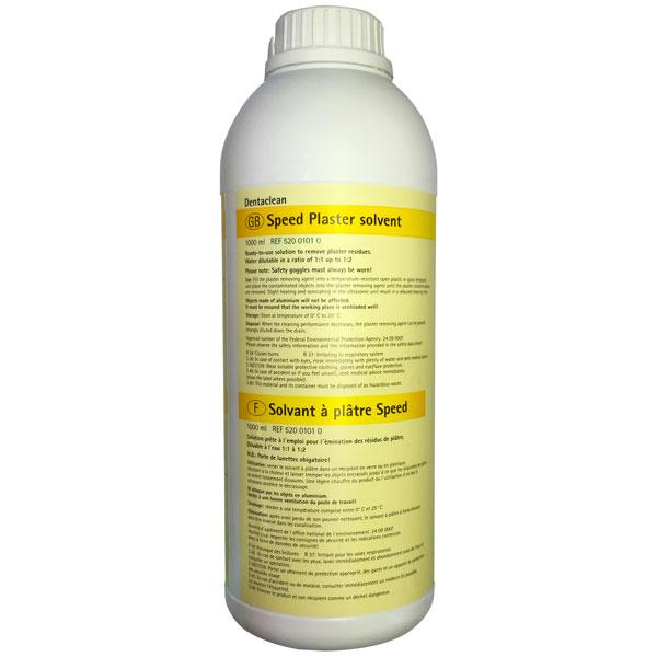 Dentaclean Speed Plaster solvent