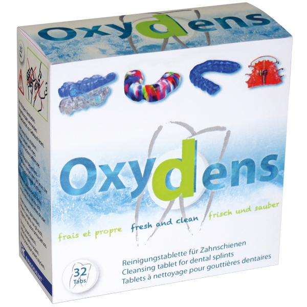 Oxydens cleansing tablets