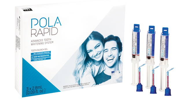 New Pola Rapid: Super fast in-office whitening treatment