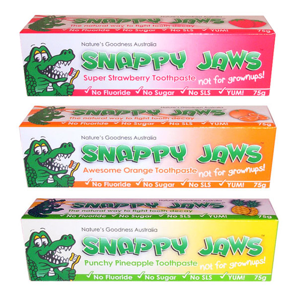 Snappy Jaws Kids Toothpaste