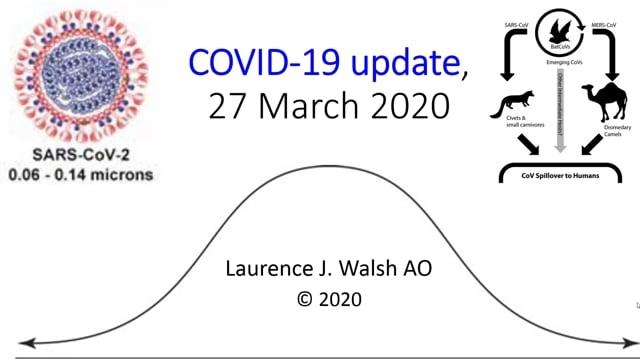 COVID-19 update: 27 March 2020